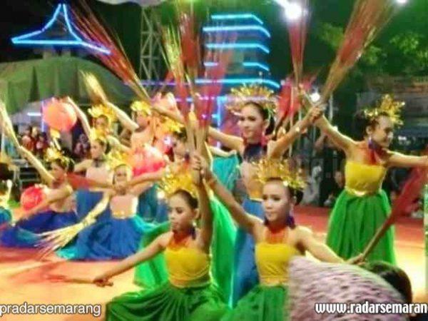 Atraksi Seni Pelajar Meriahkan Festival Kali Tuntang